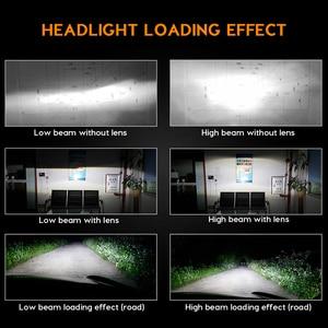 Image 5 - Zdatt H7 LED מנורת H4 LED H8 H9 H11 קרח מנורת H27 880 רכב אור 9005 HB3 LED פנסי 12000LM 100W 6000K 12V מכוניות מנורה