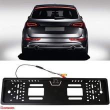 8 LED Car Auto European Backup Licence Plate Frame Rear View Park Reverse font b Camera