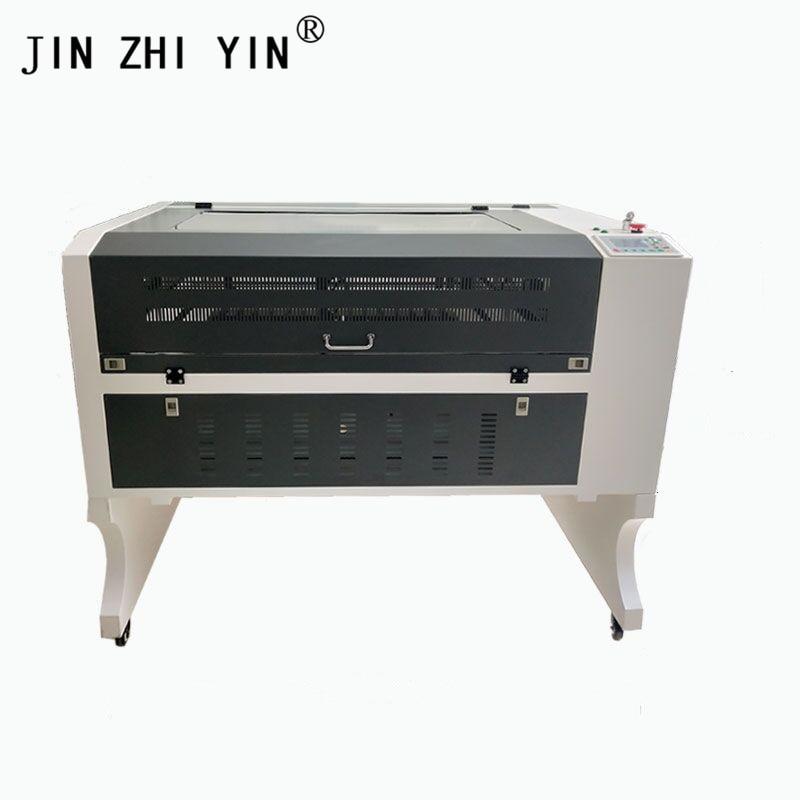 New 6090 Mini Fabric Laser Engraving Cutting Machine Cnc Price Good 100W Reci Ruida Controller Reci Laser Tube