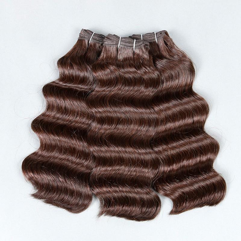 Sleek  Hair Brazilian Deep Wave 3 Bundles Deals 8A Brazilian Virgin Hair Deep Wave Mink Brazilian Hair Weave Bundles Human Hair (3)