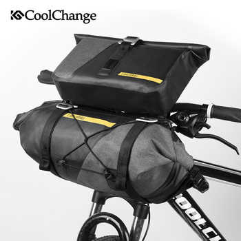 CoolChange ขี่จักรยานกระเป๋ากันน้ำหลอด Handlebar Mtb จักรยานถุง Handlebar กีฬากระเป๋าตะกร้าจักรยานอุปกรณ์เสริม - DISCOUNT ITEM  40% OFF กีฬาและนันทนาการ