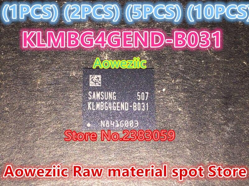 все цены на Aoweziic (1PCS) (2PCS) (5PCS) (10PCS) 100% new original   KLMBG4GEND-B031  BGA  memory EMMC32G memory  KLMBG4GEND B031 онлайн