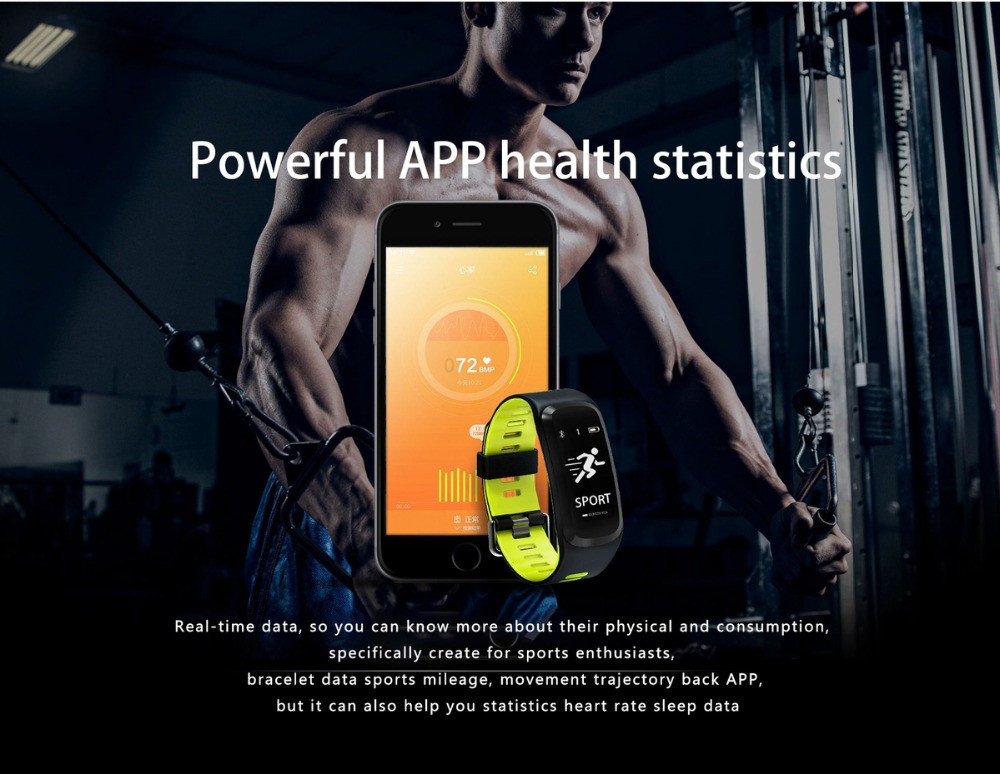 DTNO.1 F4 Original Smart Watch Bluetooth Smart Bracelet Push Message Fitness Sleep Tracker Sports Smartwatches For IOS Android (22)