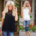 New Fashion Women Ladies Vest Sleeveless Shirt Blouse Summer Casual Loose Tops