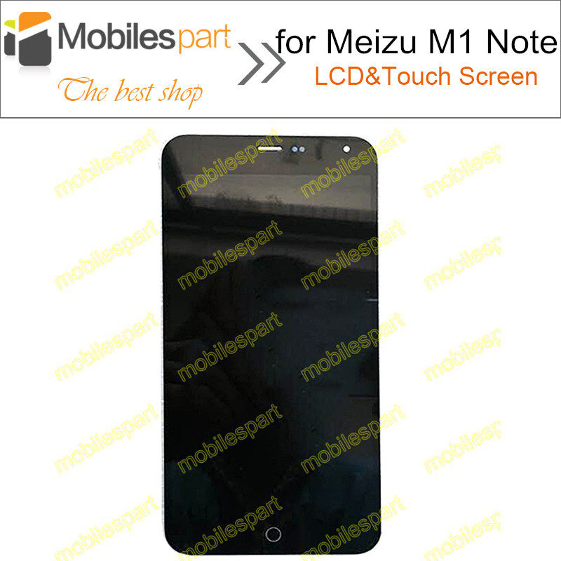 LCD Screen for Meizu M1 Note New High Quality LCD Display +Touch Screen Replacement Screen For Meizu M1 Note Smartphone подушка наволочки декор 1122382