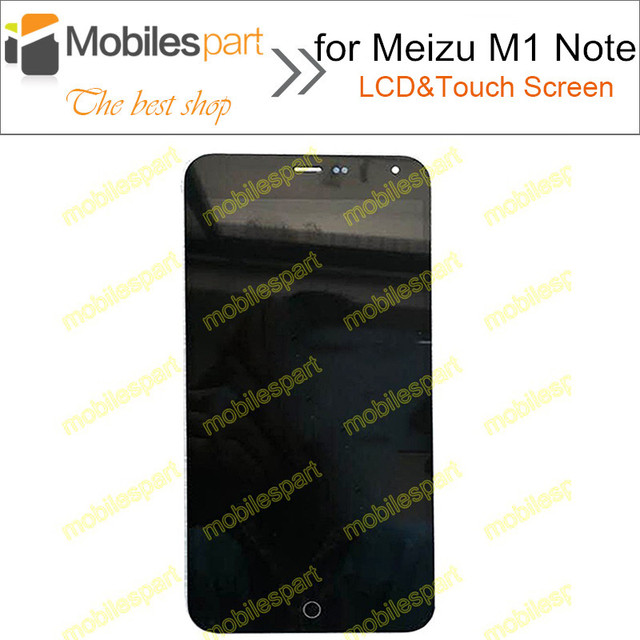 LCD Screen for Meizu M1 Note New High Quality LCD Display +Touch Screen Replacement Screen For Meizu M1 Note Smartphone