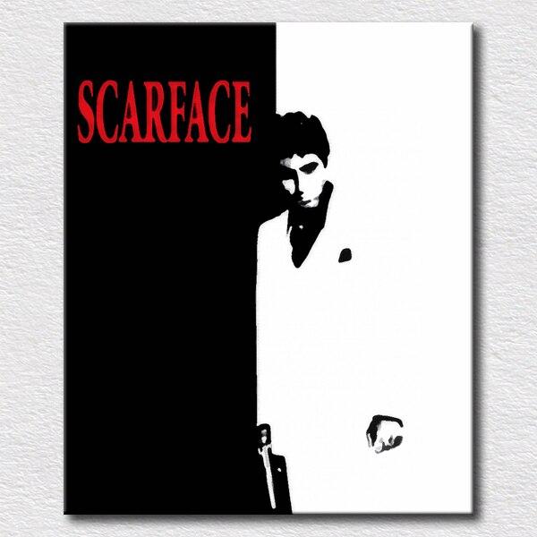 Scarface cartel cuadros para dormitorio decorativo pintura al óleo ...