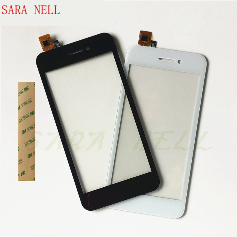SARA NELL Phone Touchscreen For Fly FS459 Nimbus 16 Touch Screen Digitizer Panel Front Glass Touch Sensor+tape image
