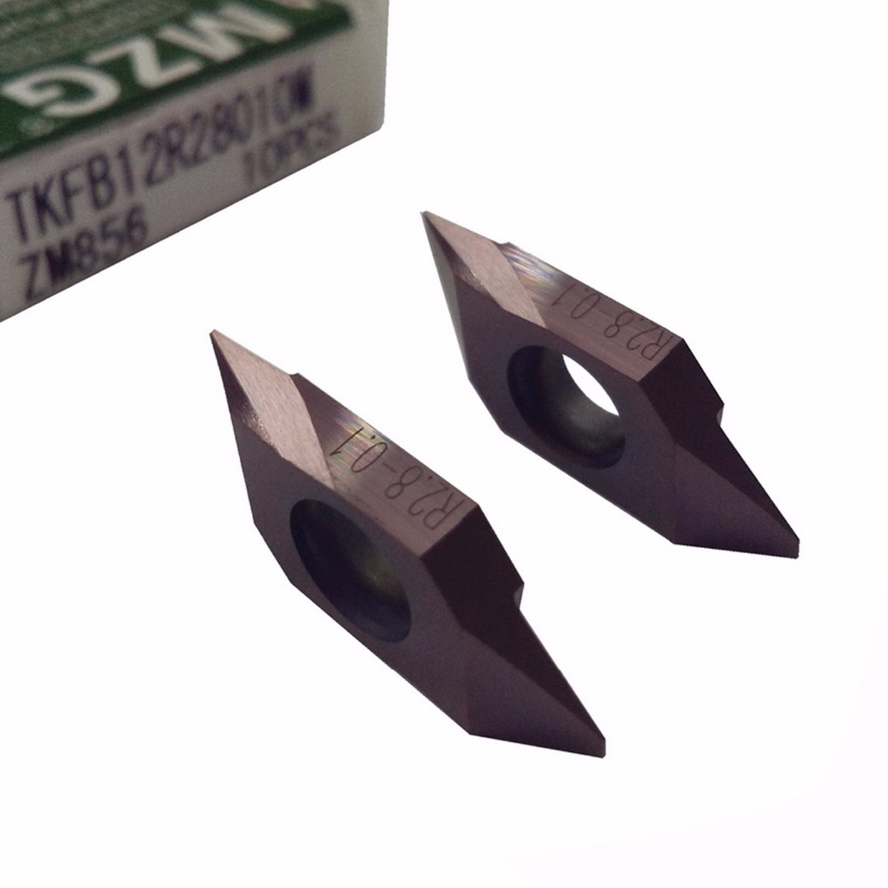 MZG TKFB12R28005M TKFB12R28010M ZM856 CNC Small Parts Machining Stainless Steel Rear Turning Holder Carbide Insert цена и фото
