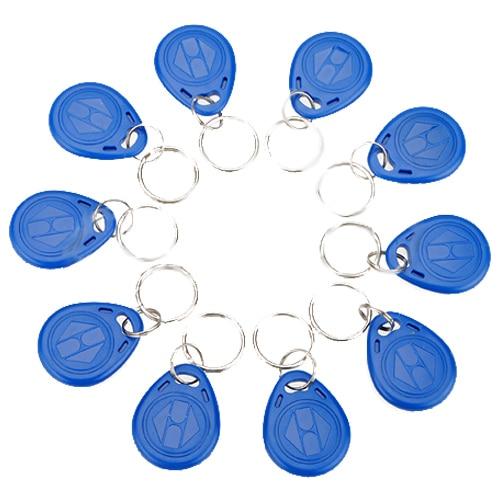 Wholesale 10pcs 125khz RFID Proximity ID Token Key Tag Keychain Waterproof New hw v7 020 v2 23 ktag master version k tag hardware v6 070 v2 13 k tag 7 020 ecu programming tool use online no token dhl free