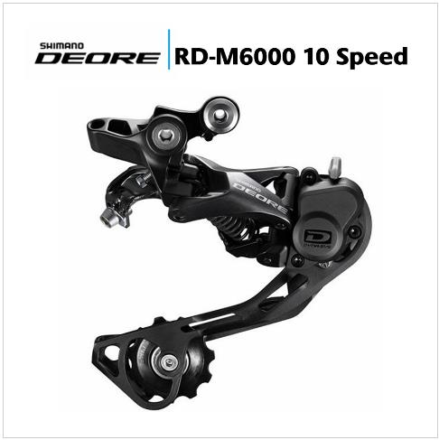 цена на SHIMANO DEORE M6000 Rear Derailleurs Shadow MTB Bike Accessory Mountain Bicycle Parts for 10S Speed