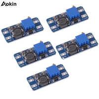5PCS MT3608 DC-DC Step Up Converter Booster Netzteil Modul Boost-Step-up Board MAX ausgang 28V 2A für arduino