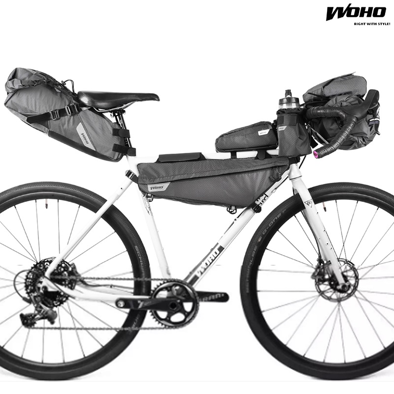 WOHO XTOURING Cycling 3 Sizes Frame Bag Bicycle Triangle Pack MTB ...