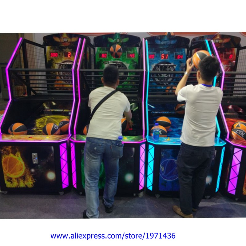 Arcade Complete kit with balls and Basketball hoop for DIY
