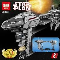 IN STOCK Lepin 05083 1736Pcs Star War MOC Series The Nebulon B Medical Frigate Set Children