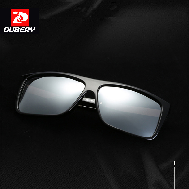 DUBERY Classic Polarized Sunglasses Men Glasses Driving Coating Black Frame Fishing Driving Eyewear Male Sun Glasses Oculos ...