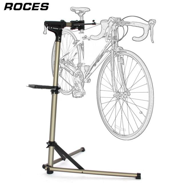 อลูมิเนียมจักรยานยืนทำงานProfessionalจักรยานซ่อมเครื่องมือปรับพับจักรยานผู้ถือจักรยานขาตั้งซ่อม
