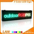 P10 Полноцветный RGB СВЕТОДИОДНЫЙ Экран Открытый Водонепроницаемый Программируемый Прокрутка Сообщение для Магазина Рекламы Бизнеса