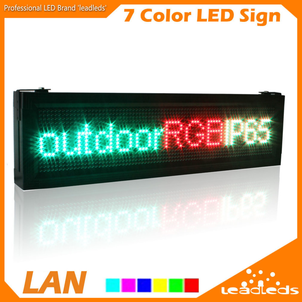 P10 Full Color Rgb Led Display Screen Outdoor Waterproof