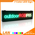 P10 Full Color RGB LED Display Screen Outdoor Waterproof Programmable Scrolling Message for  Store Advertising Business