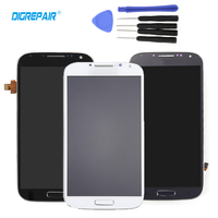 5 0 New For Samsung Galaxy S4 I9500 LCD Display Touch Screen Digitizer Assembly Bezel Frame