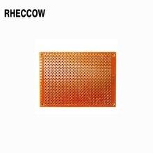 """Rheccow, 50 шт в наборе, 5x7 см Прототип 5*7 см печатная монтажная панель припоя универсальная печатная плата для """"сделай сам"""""""
