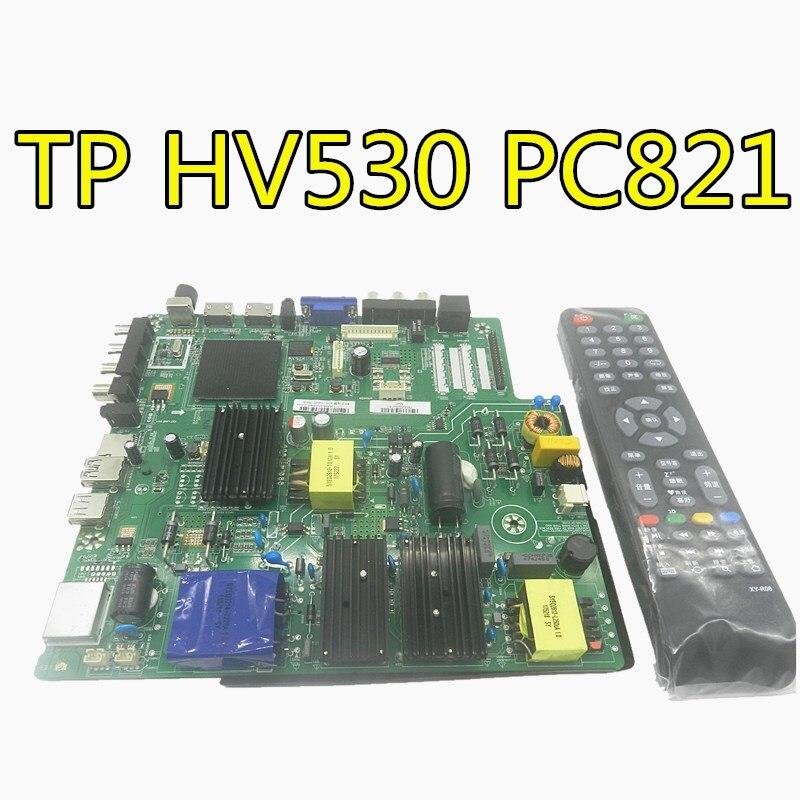 Для LEHUA три в одном сетевая ТВ плата android one plate TP. HV530.PC821 совместимый TP. HV510.PC821 с пультом дистанционного управления