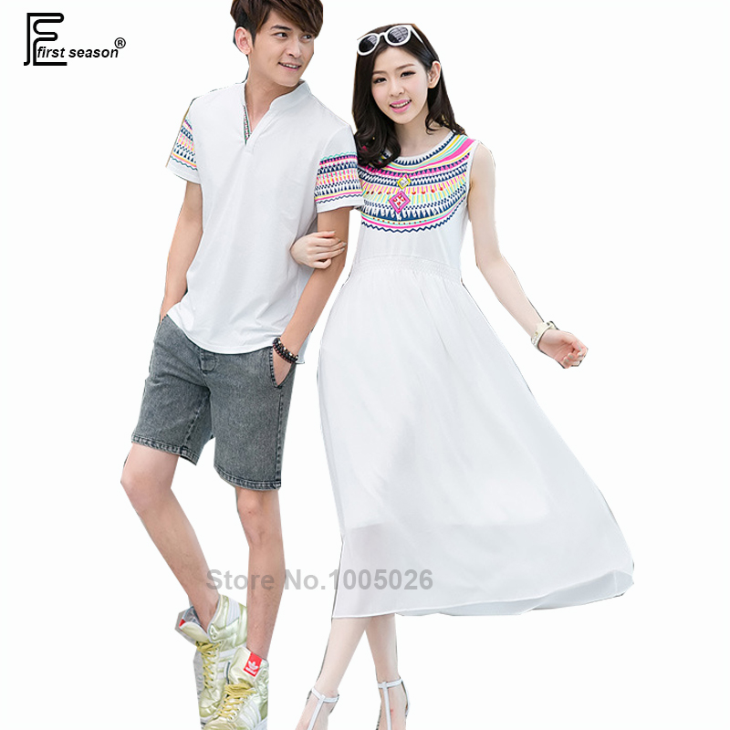Honeymoon Clothes: 2016 New Arrival Hot Sale Korean Style Coupel Matching