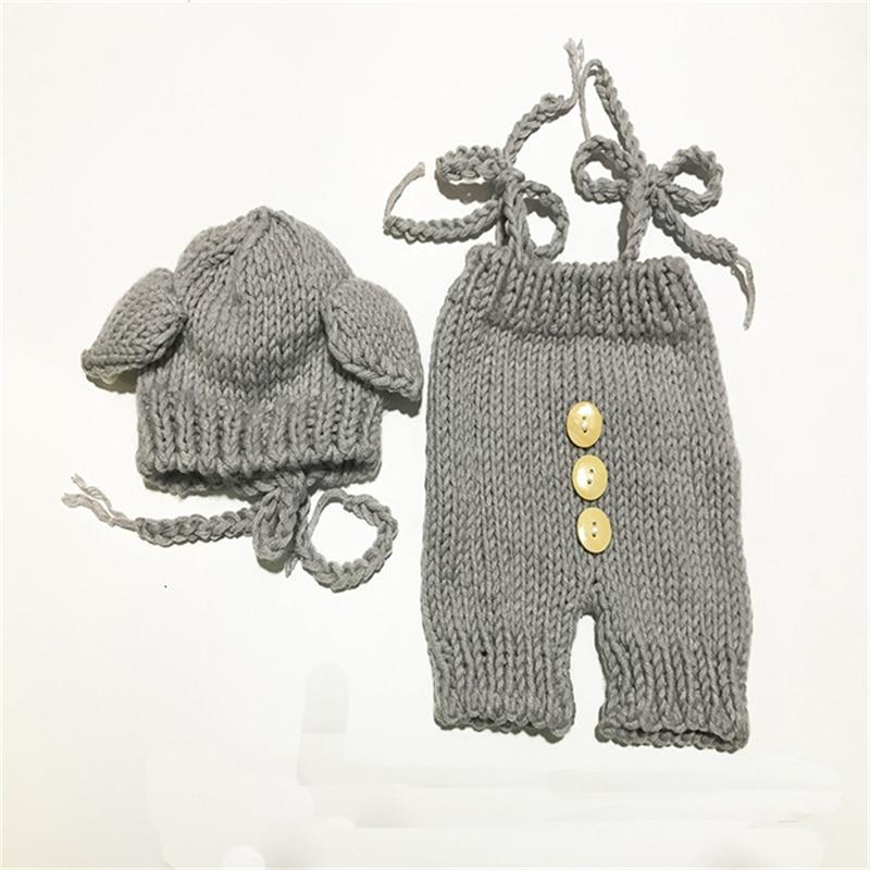 Crochet Baby Hat Bear Handmade Newborn Photography Props Baby Cap Beanie,Infantil Fotografia Accessories Baby Photo Shoot Clothe