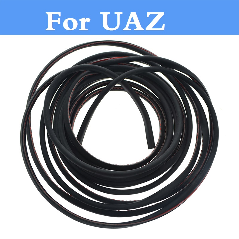 2017 New Car Door Edge Guard Crash Rubber Sealing Anti Wear Rubber Strip For UAZ 31512