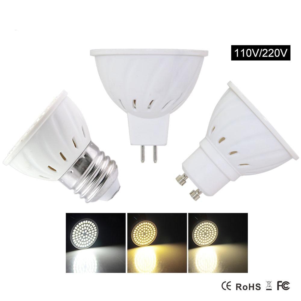 Gu10 bombillas led 4w 6w 8w ac220v 110v smd 2835 5730 - Bombilla led gu10 ...