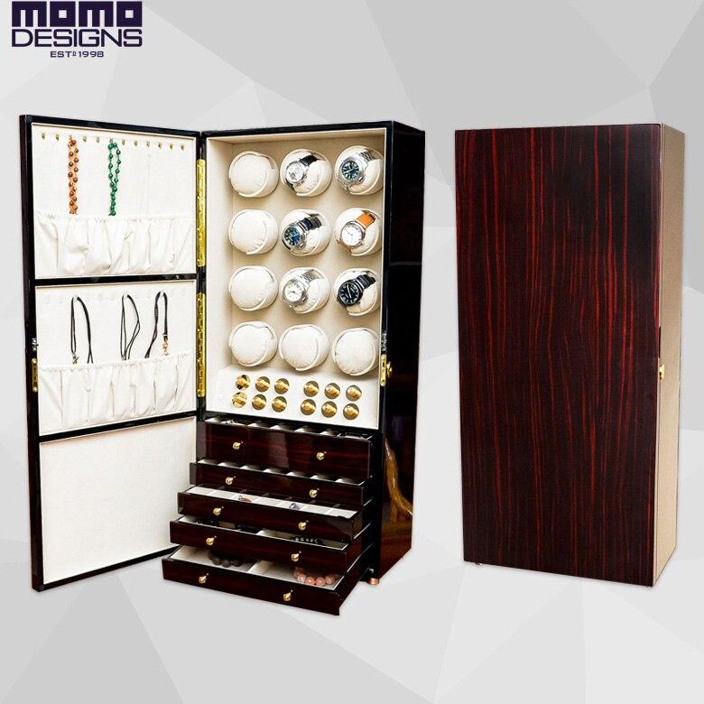Luxury wooden watch winder cabinet 12 Automatic watch reel ...