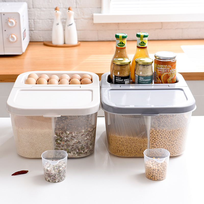Kitchen Diorama Made Of Cereal Box: Kitchen Storage Box For Cereal Container Kitchen Food
