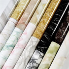 61cm X 3m / 2ft X 9.8ft / Roll Marble Pattern Vinyl Wall Stickers Waterproof Removable Self Adhesive Wallpaper