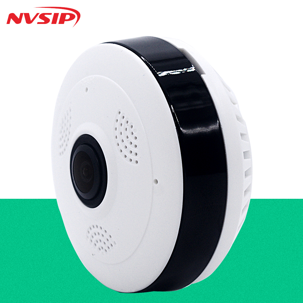 Fish eye VR Panoramic Camera HD 960P font b Wireless b font Wifi IP Camera Home