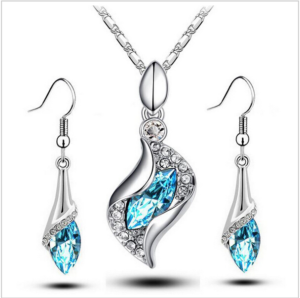 Aliexpress Com Buy New Fashion Necklace Earrings Bridal: Aliexpress.com : Buy New Limited Wedding 2014 Wholesale
