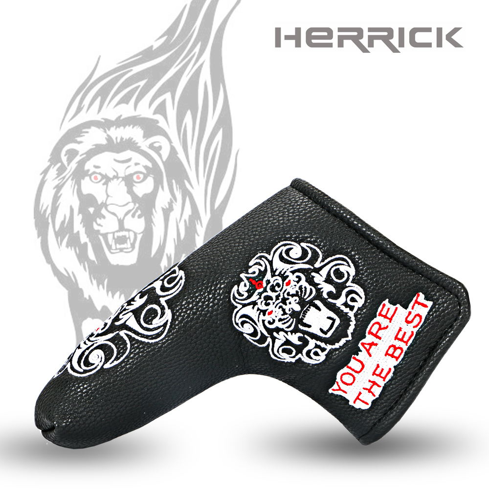 Image 4 - Golf putter headcover golf Head the design of the lion's head Cover with Blade Style 2018 NEW Free Shipping-in Golf Clubs from Sports & Entertainment