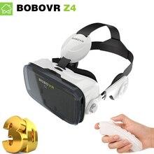 XiaoZhai Bobo Vr Z4 Virtual Reality 3D Helmet Google Cardboard VR BOX 2 3DGlasses VR Headset earphone movie+Bluetooth Controller