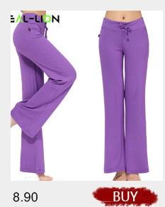 d8e5e789a1f 2019 Reallion Plus Size Wide Leg Yoga Pants Women Fitness Sport ...