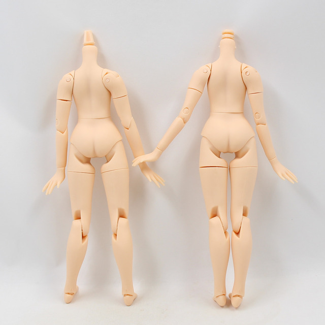 Male Joint Body 8.5 inch For 1/6 Boy Blyth Doll with White Skin Different Neck Joint Suitable for DIY Free Shipping