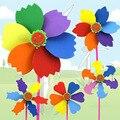 Niños Juguetes Educativos de DIY Material Hecho A Mano Molino de viento de BRICOLAJE EVA DIY Arte Niños Manualidades Creativas DY18