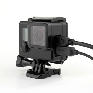 Image 5 - Professional Black Side Open Protective Case Camera Accessories for GoPro Hero 4/3+
