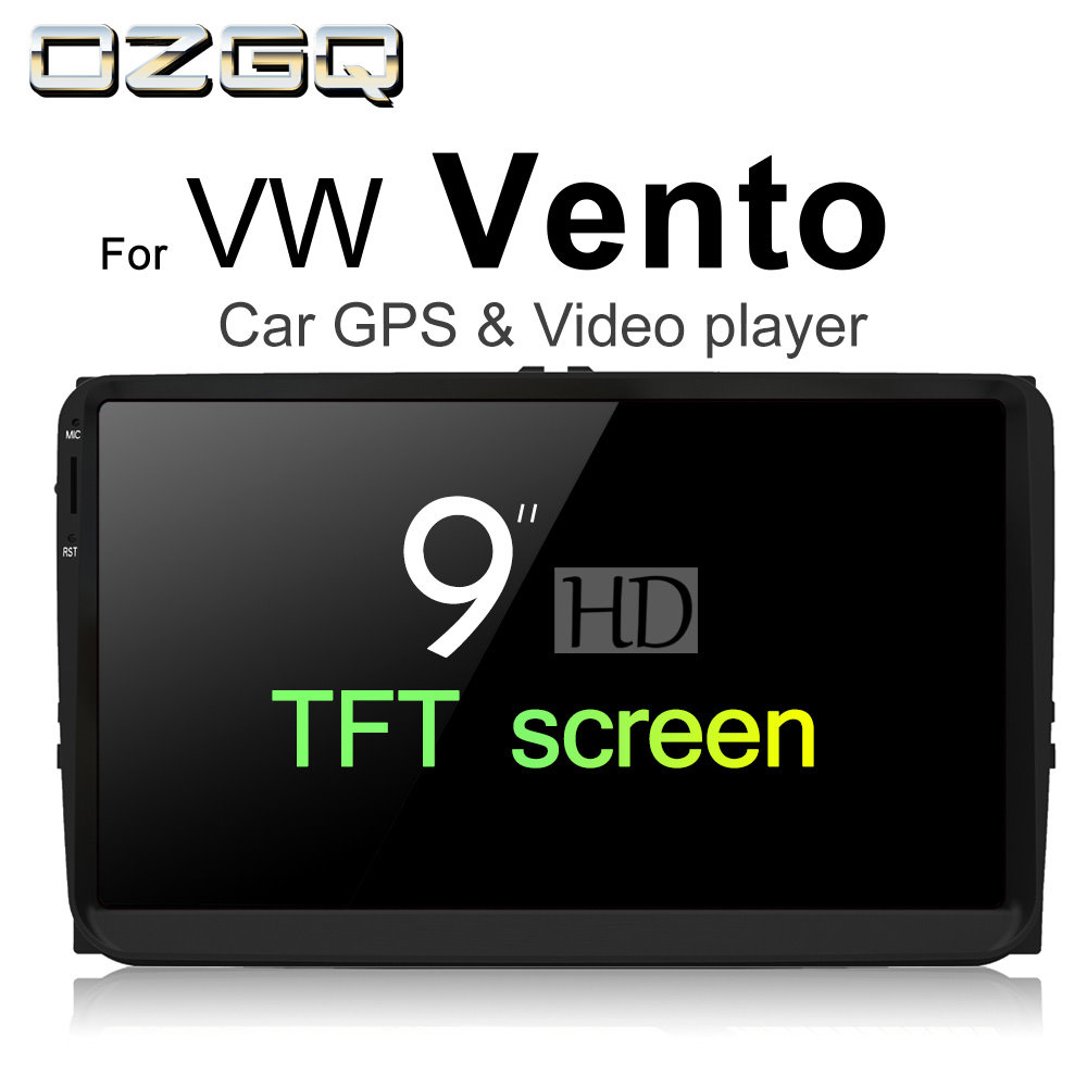 OZGQ Android 7.1 Car Player For VolksWagen VW Vento 2010~2018 HD Screen Auto GPS Navigat ...