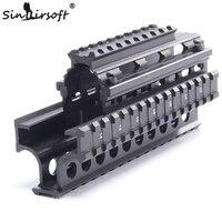 Yugo M70 AK Quad Rail Handguard for Laser Dot Sights Riflescope Mount V cut for Co witness with Iron Sights MTU011