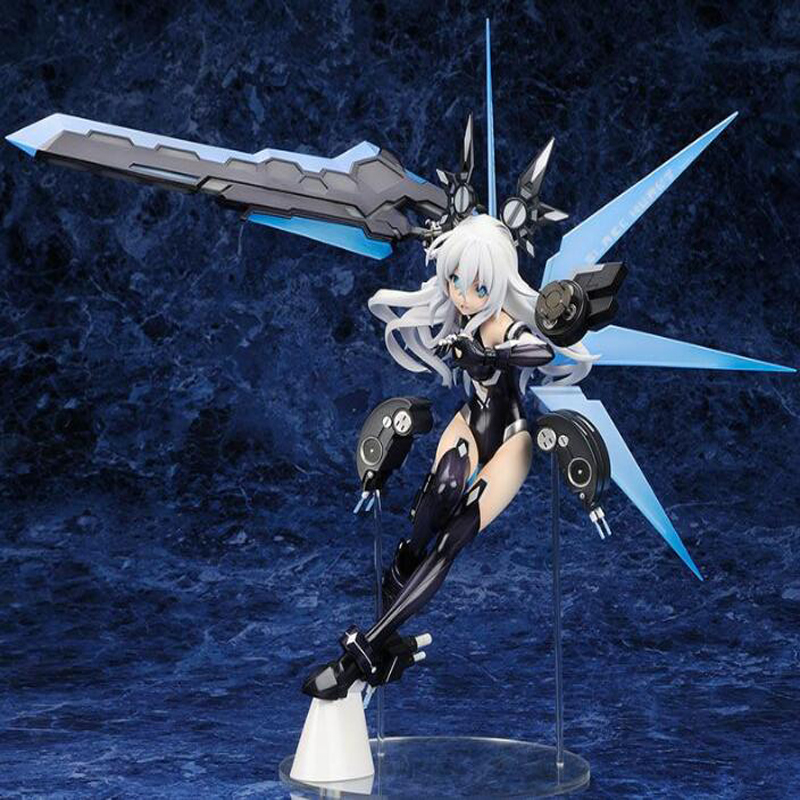 Hyperdimension Neptunia Noire anime action figure 31cm 1/7 scale painted collection figures Black Heart toy gift boxed Y7887 1pcs action figures toy kids gift collection for trumpeter 01524 1 35 flakvierling 38 sd kfz 7 1 late