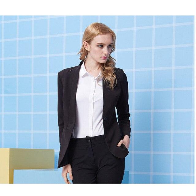 New Style Slim Fit Nero Smoking Abiti Da Sposa Per Le Donne Delle Donne Due  Bottone fe6e79f8e5a