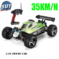 Remote control car WLtoys A959 2.4G 1/18 ratio remote control off road racing high speed stunt SUV toy gift boy RC mini car part