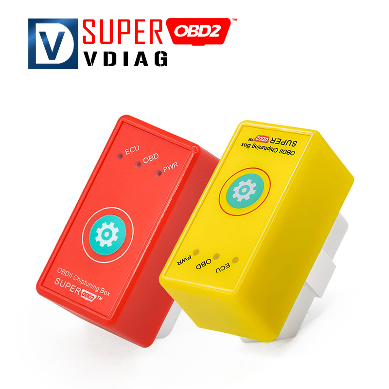 2016 Super OBD2 Car Chip Tuning Box Plug Drive SuperOBD2 More Power/More Torque