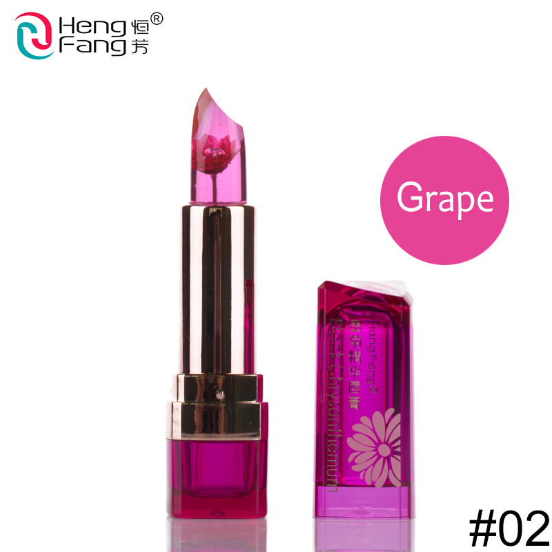 Temperature-changed Lipstick Lip Balm 7 Colors Lipbalm Nutritious Lips 3.5g Makeup Brand HengFang #H9223-H9266 2