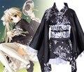 In solitude where we are least alone lorita style Sora Kasugano kimono Cosplay Costumes